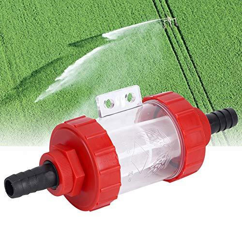 Niet-giftige corrosiebestendige pomp filter tuin irrigatie filter kunststof materiaal voor tuin irrigatie interface pijp voor waterpomp filter (1 inch)