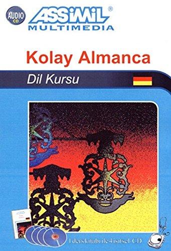 Assimil Deutsch ohne Mühe heute für Türken, Lehrbuch und 4 Audio-CDs