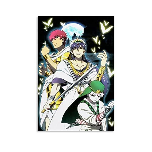 ZITANG Póster de anime Magi El laberinto de la magia de la...