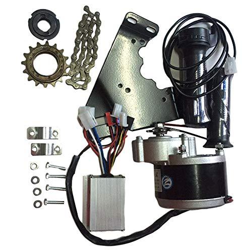 Meiyiu 24V 250W Controlador de Motor Kit de conversión de Bicicleta eléctrica Cadena de Soporte de Motor de Volante Volante para Kit de Bicicleta de Bicicleta eléctrica de 20-28 Pulgadas