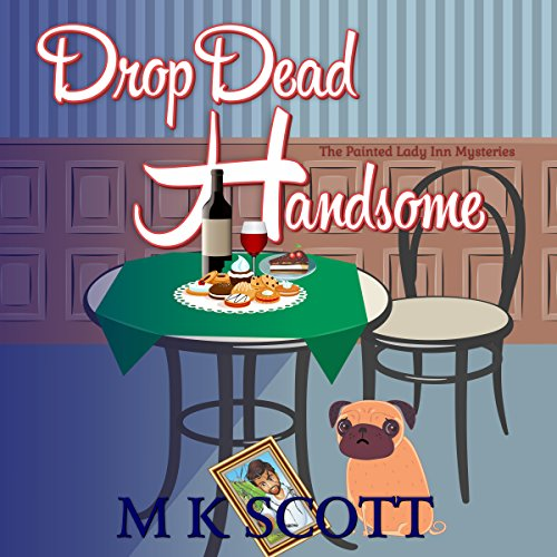 Drop Dead Handsome audiobook cover art