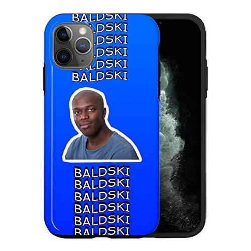Sconosciuto iPhone 12 Mini Case, Baldski Meme KSI RAP037_3 Case for iPhone 12 Mini Protective Phone Cover, Rapper Singer Artist [Double-Layer, Hard PC + Silicone, Drop Tested]