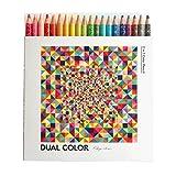 コクヨ 色鉛筆 DUAL COLOR 20色 KE-SP14