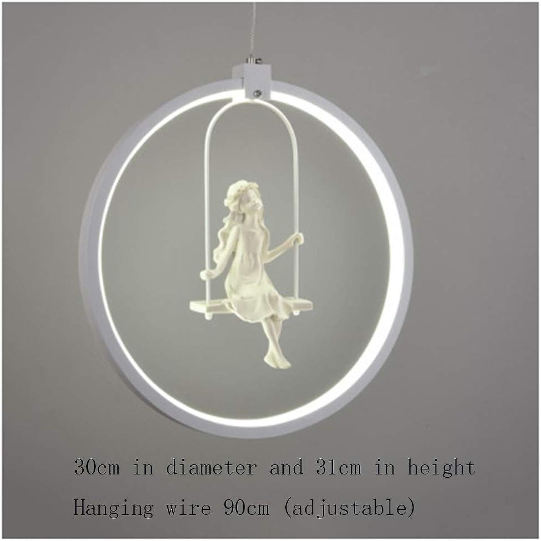 Mode-Harz-Engels-Leuchter führte Lampen geführte Beleuchtung führte Leuchter geführten Glanz-Anhnger Leuchter (Farbe   E)