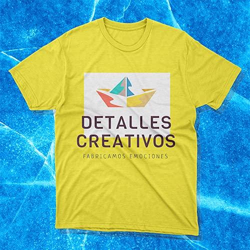 Detalles Creativos Camisetas Personalizables - T-Shirt Personalizadas .Tu Foto ó diseño en una Camiseta Tallas