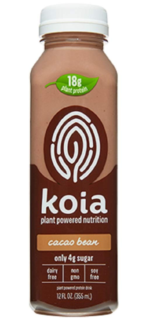 Long-awaited Koia Plant Powered Nutrition Cacao Bean Mil Today's only Free Dairy Chocolate