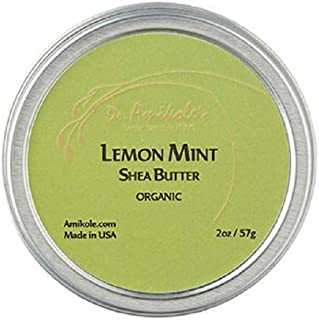 アミコレ シアバター缶 レモンミント LEMON MINT SHEA BUTTER (2oz/57g ) ヒルナンデス!で紹介