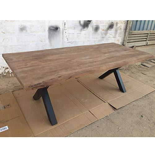 BRIX Esstisch Tree Top X 220 x 100 cm Mangoholz Dinnertisch Tisch Esszimmertisch