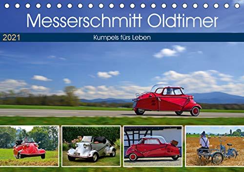 Messerschmitt Oldtimer - Kumpels fürs Leben (Tischkalender 2021 DIN A5 quer)
