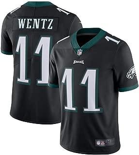 #11 Carson Wentz Philadelphia Eagles Football Player Jerseys for Men Kid Women