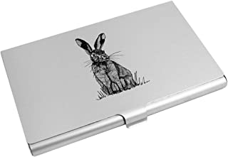 Azeeda 'Sitting Hare' Business Card Holder / Credit Card Wallet (CH00013948)