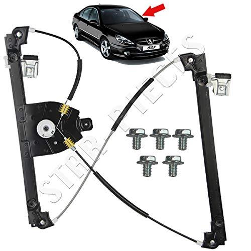 STARKIT PERFORMANCE Mécanisme lève vitre électrique Avant Gauche conducteur pour Peugeot 607 de 2000 à 2011