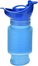OUTFANDIA Emergency Urinal,Portable Mini Outdoor Camping Travel Shrinkable Personal Mobile Toilet Potty Pee Bottle for Kids Adult (750 ML)