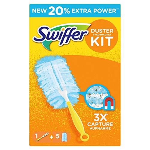 Kit Swiffer Duster con plumeros manija 5 de plumas