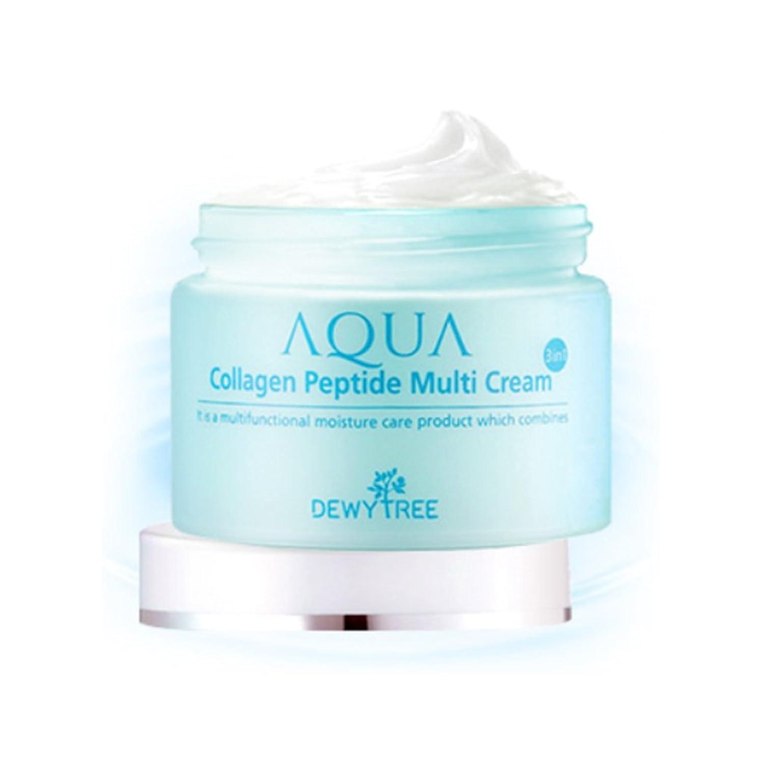 ねばねば笑女優[Dewytree] デュイトゥリー アクアコラーゲン ペプチド マルチクリーム Aqua Collagen Peptide Multi Cream (50ml) / [並行輸入品]