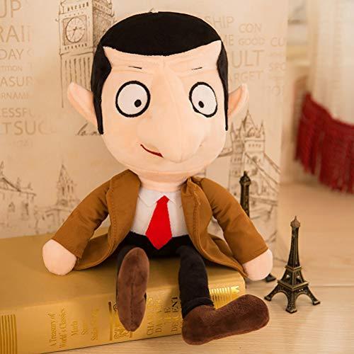 TiKiNi Mr.Bean Plüsch-Spielzeug, Mr. Bean gefüllte Puppen, niedlich, bequem, 30 cm