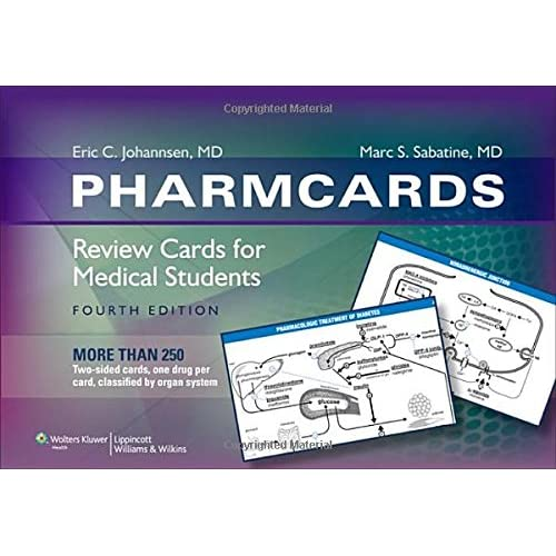 PharmCards: Review Cards for Medical Students: 9780781787413