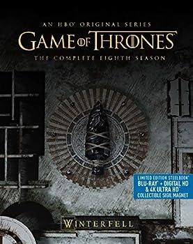 Game Of Thrones  Season 8  Steelbook/4K Ultra HD/BluRay  [Blu-ray]