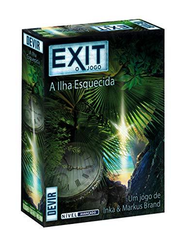 devir-bgexit5pt Exit: L' Isola dimenticata–ED. Portoghese Colore (bgexit5pt)