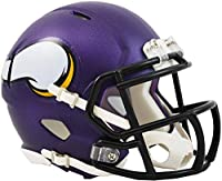 Riddell Minnesota Vikings Revolution Speed Mini Football Helmet - NFL Mini Helmets