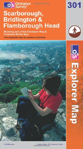OS Explorer map 301 : Scarborough, Bridlington & Flamborough Head