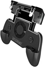 Younar 3-in-1 Game Controller for PUBG Mobile,Game Assistant Handle with 4000mAh Emergency Charging Cooling Funtion