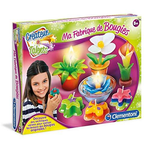 Clementoni-Ma Fabrique à Bougies-Jeu créatif, 52291, Multicolore
