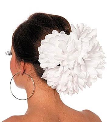 Aptafêtes - Grosse fleur sur barrette