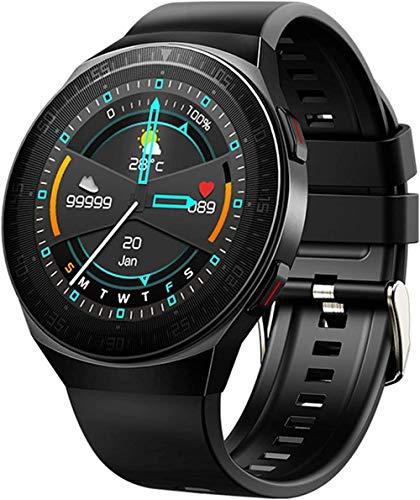 MT3 reloj inteligente de la música de los hombres bluetooth llamada impermeable múltiples modo deportivo función de grabación fitness tracker pulsera-B