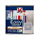 V33 110804 Easy Furniture Paint, Stone Grey Satin, 500ml