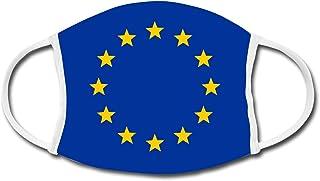 Spreadshirt Europa EU Sterne Flagge Mund-Nasen-Bedeckung