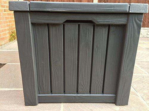 Keter Cabinet Mehrzwecktruhe Gartentruhe, 570L, 155×72,4×64,4cm - 6