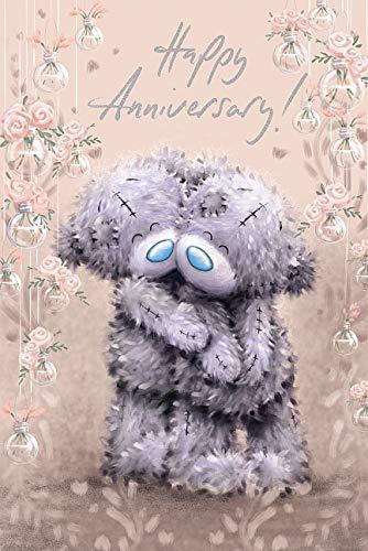 Happy Anniversary Me to You Bear Anniversary Card