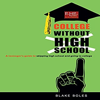 College Without High School audiobook cover art