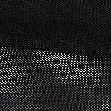 SCHÖNER LEBEN. Netzstoff Netzfutter Mesh dünn schwarz
