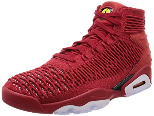 Nike Herren Jordan Flyknit Elevation 23 Basketballschuhe, Rot (University Red/Black 601), 45 EU