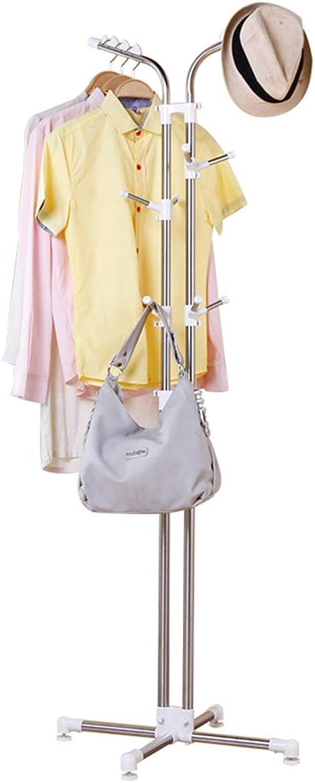 Coat Rack Hanger Creative Clothes Rack, White, 60cm60cm120cm Haiming (color   White)