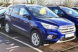 Autoclover Deflectores de Viento Set para Ford Kuga 2012 + (6 Piezas)