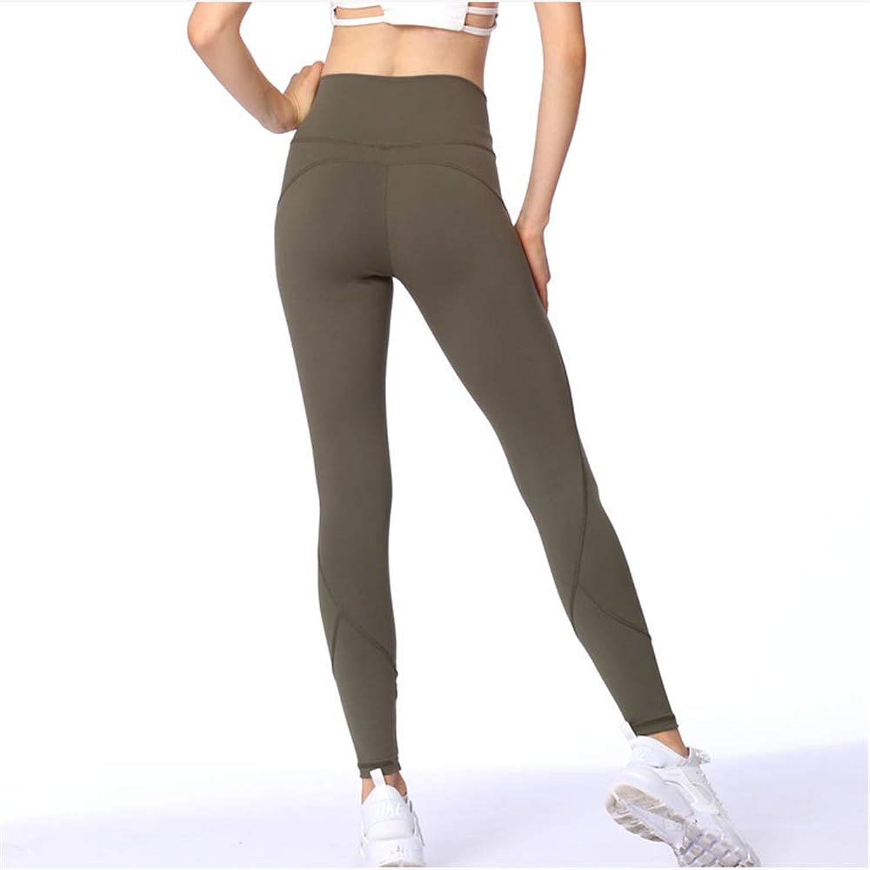 High Waist Leggings Yoga Pants Women's Running Tights Sport Leggings,3,S