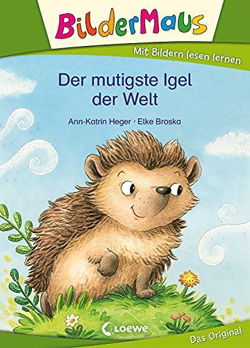 Bildermaus - Der mutigste Igel der Welt: Mit Bildern lesen lernen - Ideal für die Vorschule und Leseanfänger ab 5 Jahre