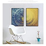 Bradoner Nórdico Moderno Minimalista Abstracto Pintura Decorativa Sala de Estar sofá Fondo Pared Tinta Pintura Pintura al óleo Pintura Mural patrón Combinado Pintura (Size : 35x50cm)