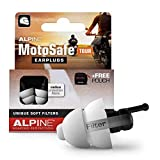 Alpine MotoSafe Tour Reusable Ear Plugs – Motorcycle Ear Plugs – Noise Reduction & Ear Protection - Motorcycle Earplugs for Touring & Motorways - Hypoallergenic Reusable Earplugs