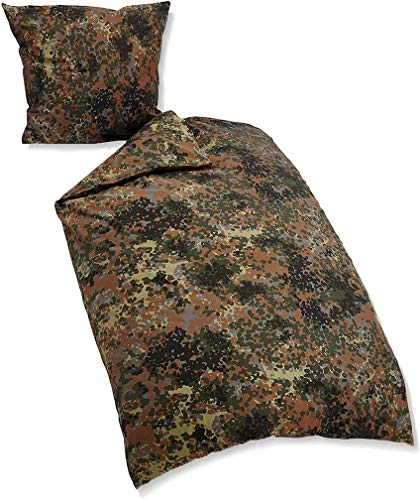 Bed Linen CO 2 TLG Flecktarn