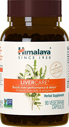 Himalaya LiverCare for Liver Cleanse and Liver Detox 375 mg, 90 Capsules, 45 Day Supply