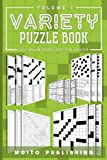 Variety Puzzle Book: 200 Brain Exercises for Adults Volume 1