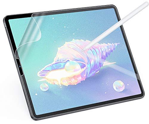 MagoFeliz Paper-Feel Matte Schutzfolie für iPad Pro 11 Zoll (2018/2020)/iPad Air4 10,9 Zoll, Weiche PET Folie Schreiben wie auf Paper, [Unterstüzt Pencil] [Nicht Glas]