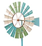 Metallwindrad - Kinetic Spinner 66cm - Coastal Windmill -...