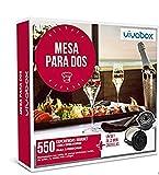 VIVABOX Caja Regalo -Mesa para Dos- 280 restaurantes. Incluye: un Set de 2 Mini cazuelas