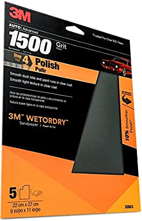 "3M 32023 Imperial Wetordry 9"" x 11"" 1500 Grit Sheet"