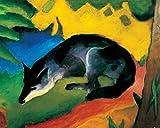 1art1 Franz Marc - Der Blaue Fuchs, 1911 Poster Kunstdruck